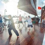 Taichi on Halong Bay Cruise