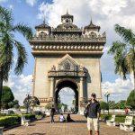 Vientuance's own Arc de Triumph Laos Tour