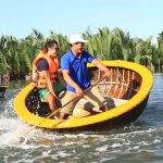 Basket Boat in Central Vietnam Tour