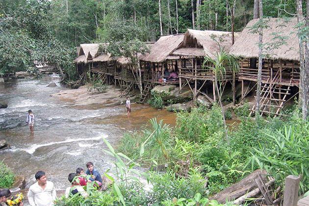 Chambok Village Attraction in Cambodia