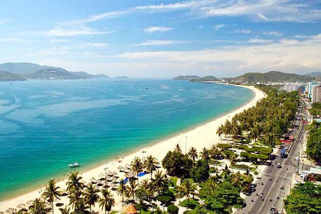 Nha Trang Beach in Vietnam