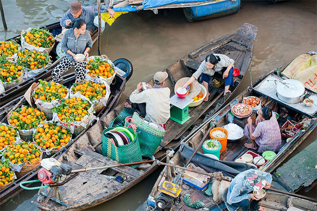 Cai Rang Floating Market Holiday Package in Vietnam