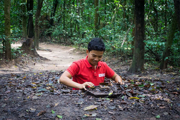 Cu Chi Tunnels Vietnam Holiday
