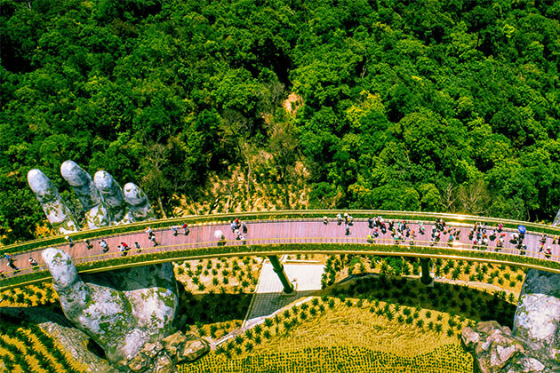 Golden Bridge Vietnam Family Holiday