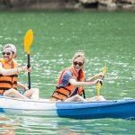 Kayaking in Halong Bay Vietnam Holiday