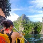 Kayaking in Halong Bay Family Tour