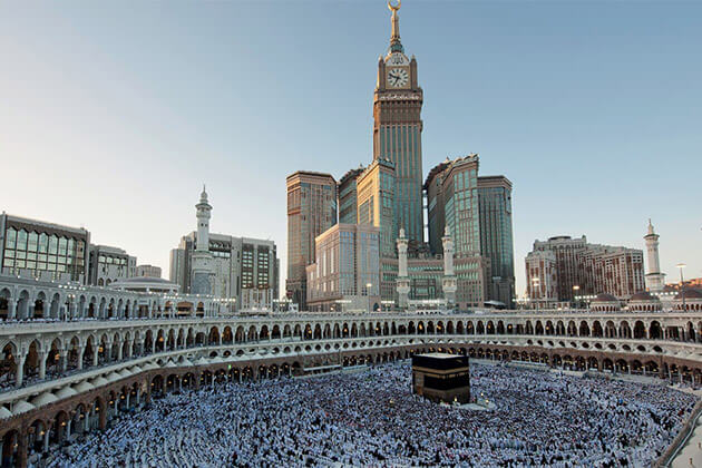 Makkah Royal Clock Tower 3rd tallest buildings in the world