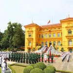 Presidential Palace in Hanoi Vietnam Family tour