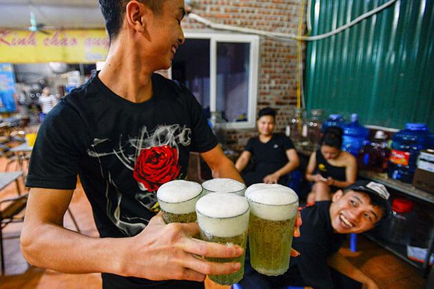 Bia Hanoi in HAnoI Tour
