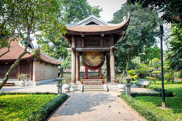 Temple of Literature in Hanoi Tours