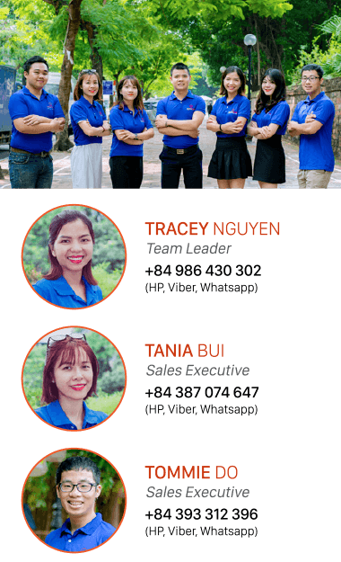 Vietnam tour operator customer support team
