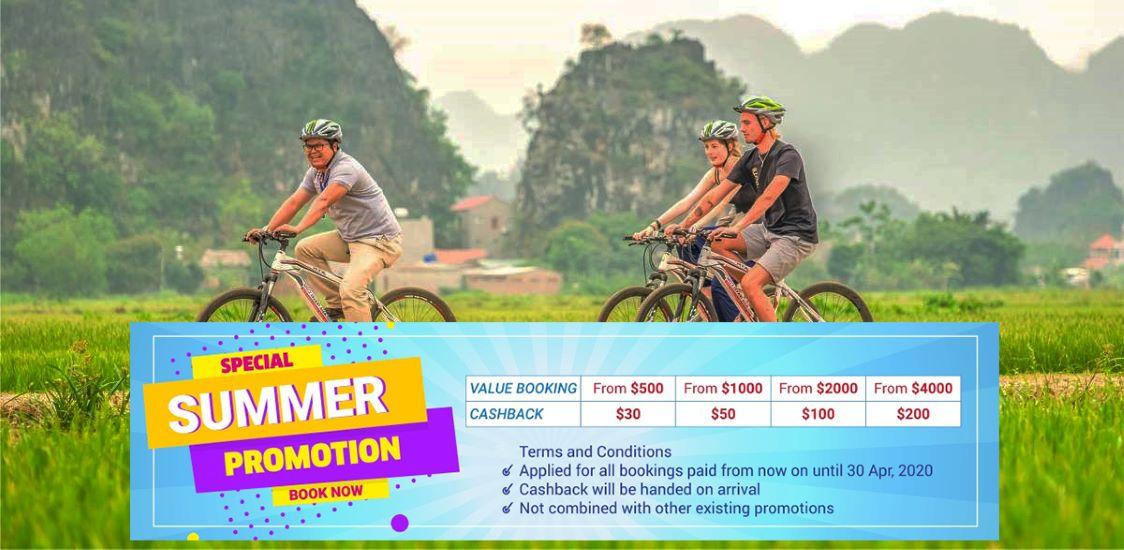 cycling in ninh binh tour operator in vietnam